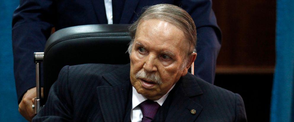 Algeria: Ailing president Bouteflika to seek 5th term