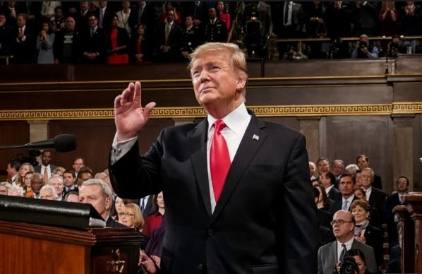 Trump urges bipartisan unity in State of the Union address