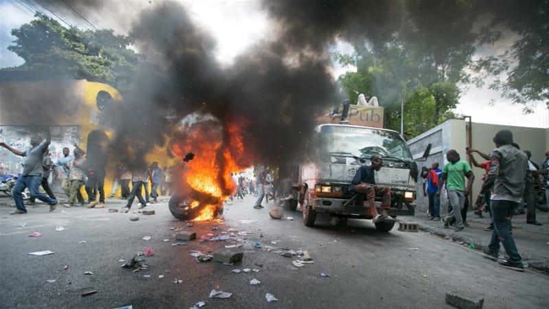 Anti-Government protests continue in Haiti