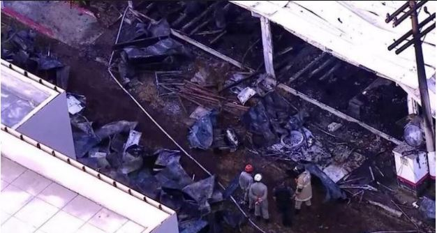 Fire kills more than 10 in Brazil youth football facility