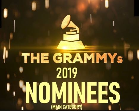 See list of nominees for tonight's 2019 Grammy Awards