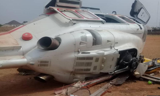 NCAA commences investigation on VP's helicopter crash