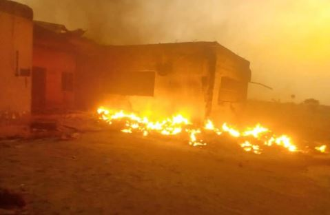 Fire guts INEC office in Quan Pan Local Govt in Plateau State