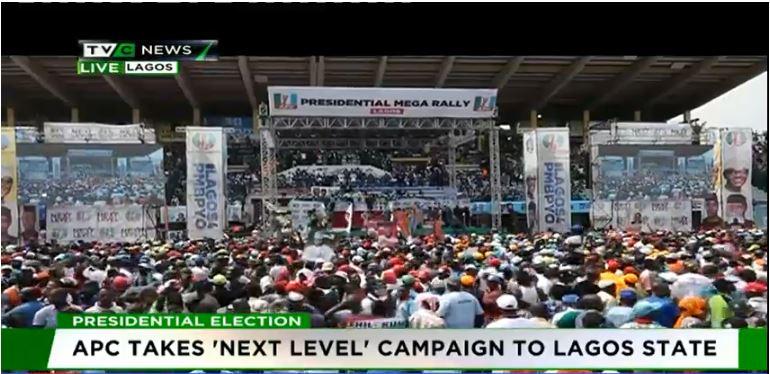 APC takes presidential campaign rally to Lagos