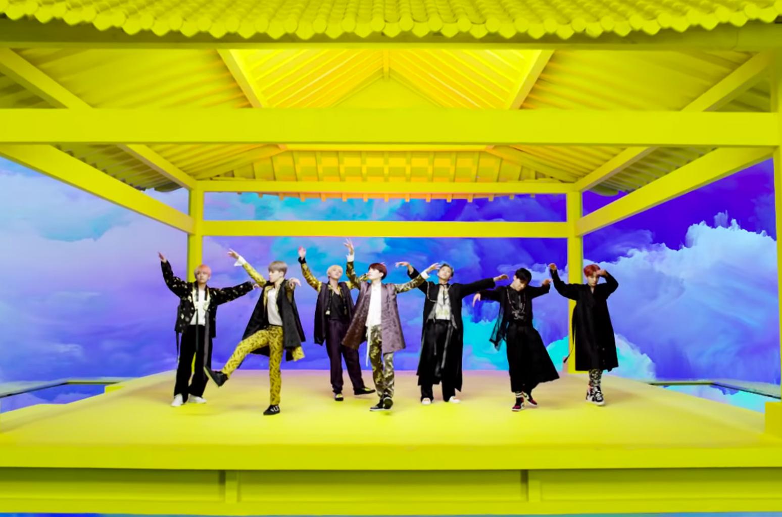 BTS' Idol Music Video hits 400 million views on youtube