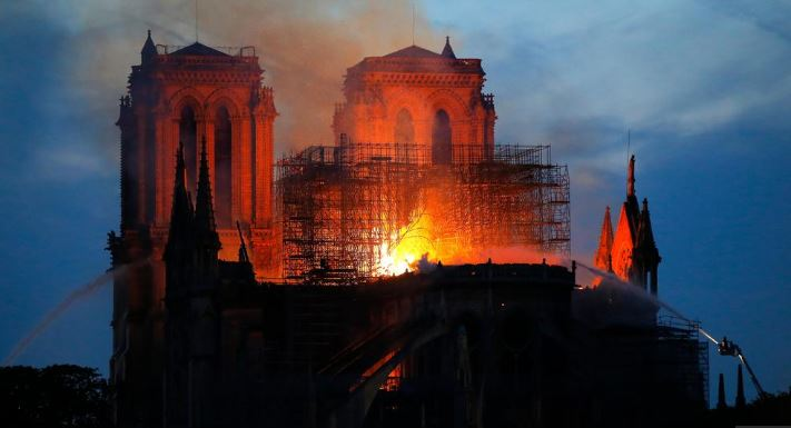 French billionaires, businesses pledge $790 million to restore Notre-Dame Cathedral