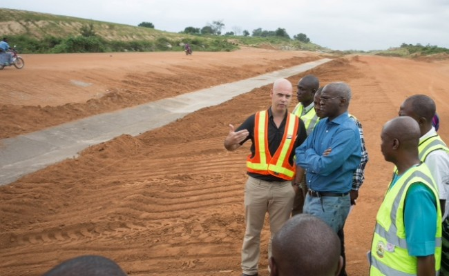 Image result for Lagos-Ibadan expressway road construction