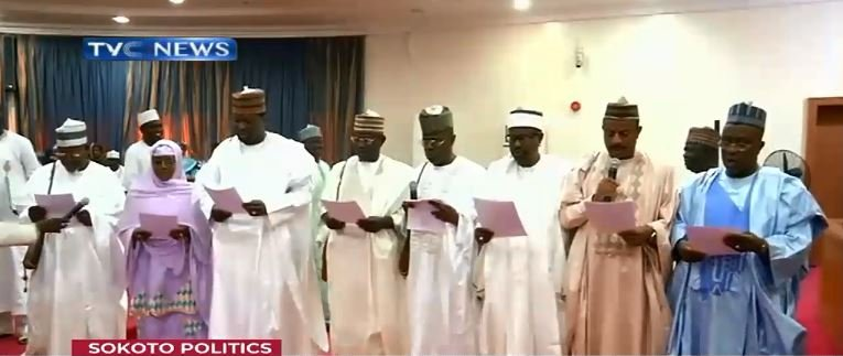 Sokoto Gov swears in newly appointed commissioners