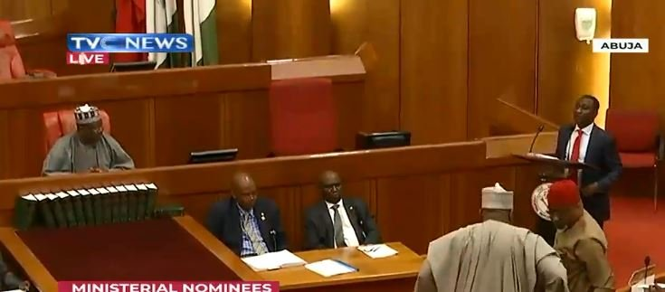 HappeningNow: Senate begins screening of ministerial nominees - TVC News