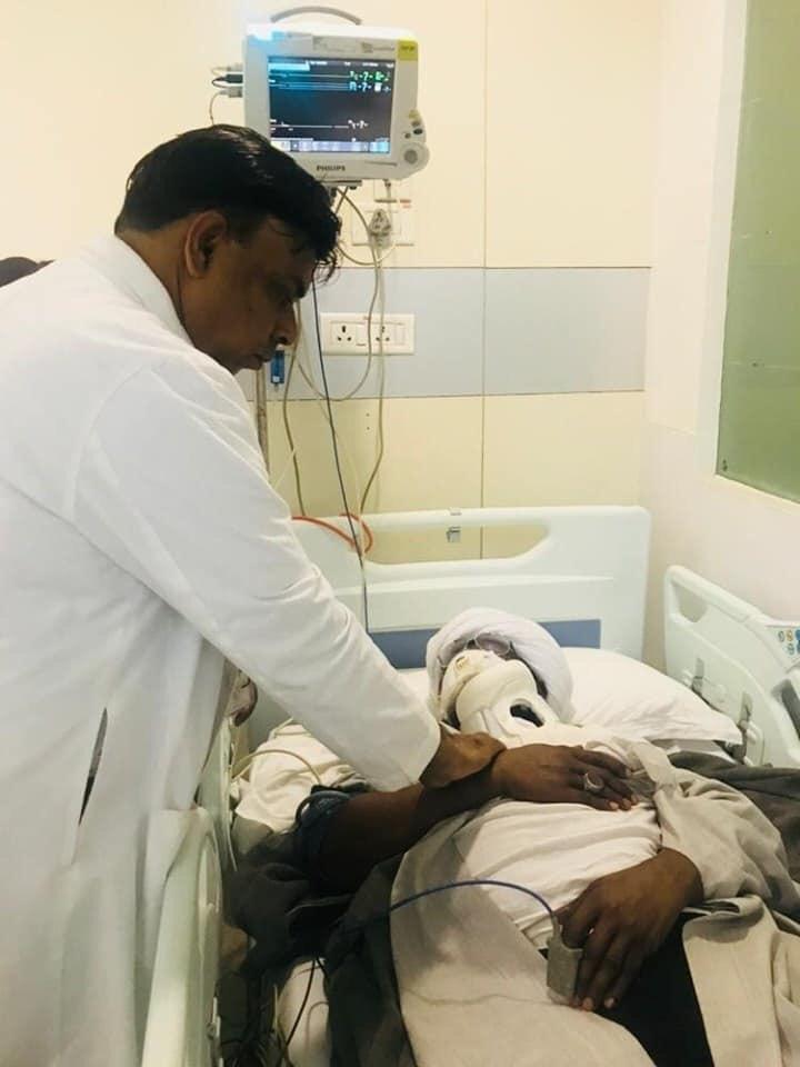El-Zakzaky, wife in Medanta hospital India receiving treatment
