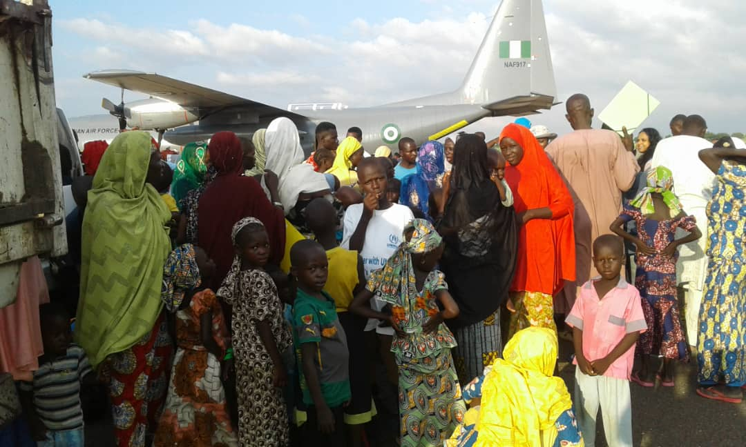 Scores of Nigerian refugees in Cameroon voluntarily return to Adamawa - TVC News