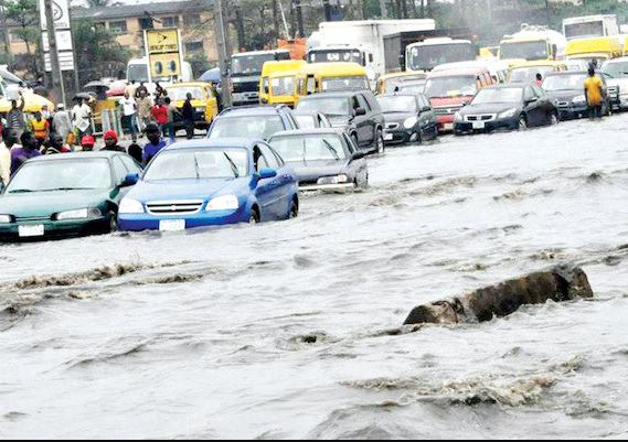 Image result wey dey for Lagos Alerts Residents On Flooding of Low Line Areas