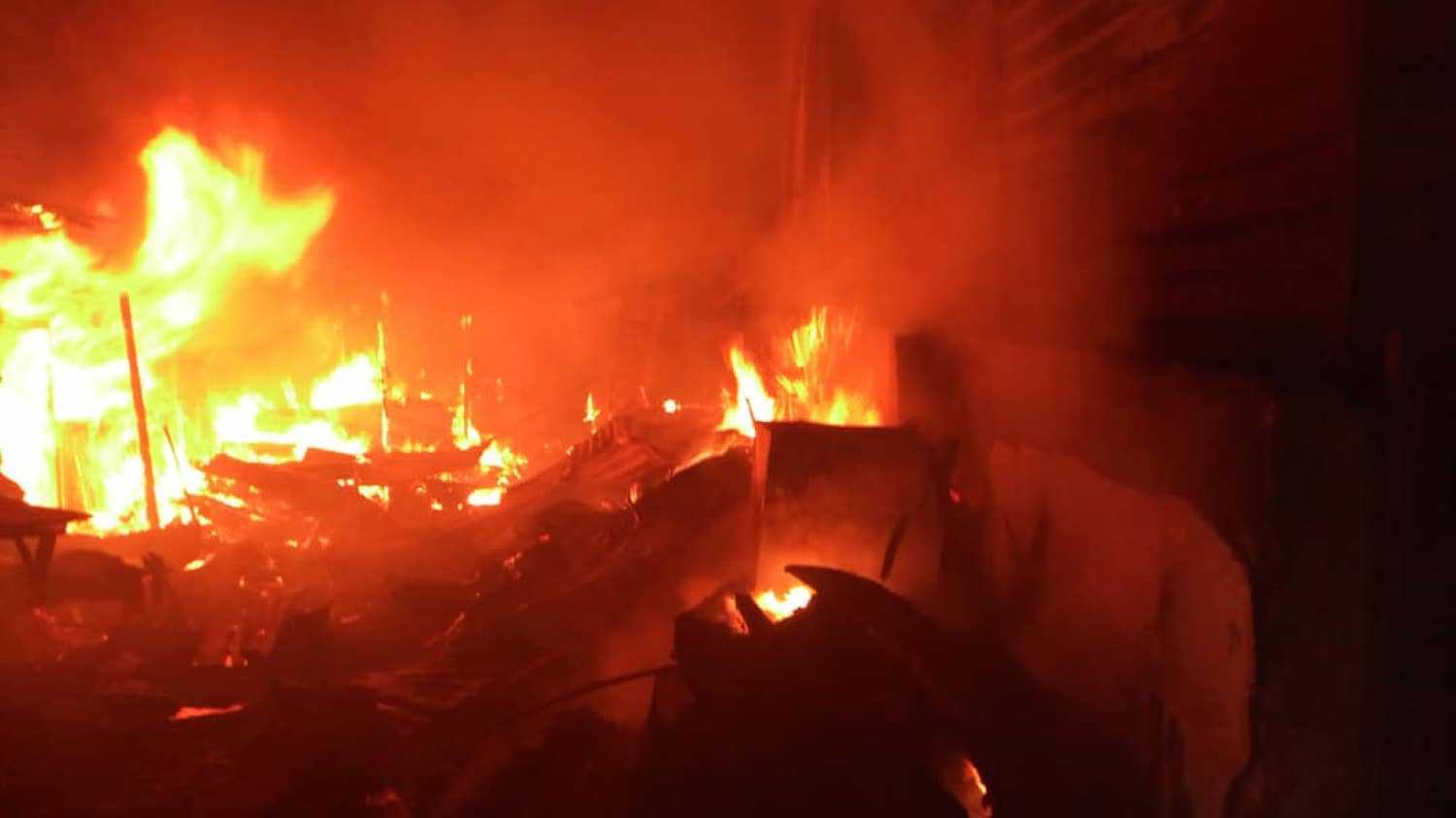 Fire razes multi-million naira factories in Ibadan