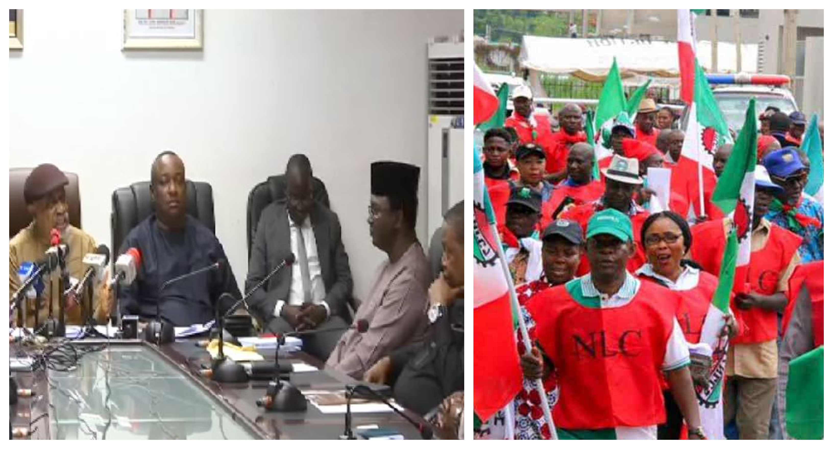 Image result for Minimum Wage: FG, Labour meeting ends, to resume tomorrow