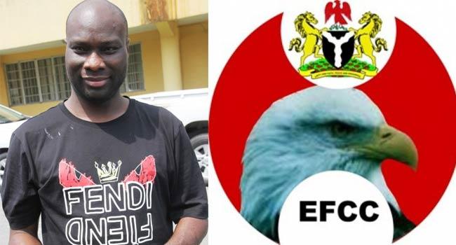 Mompha sues EFCC, demands N5m damages for 'unlawful detention'