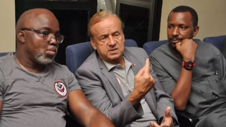 Image result for Gernot Rohr confirms contract talks with NFF