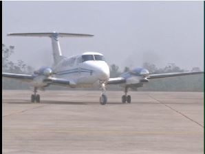 AOC Mobility Command boards maiden flight to Bayelsa Int'l Airport - TVC News
