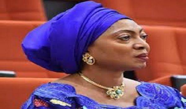 Image result for The Senator representing Cross-River north, Rose Oko is dead.