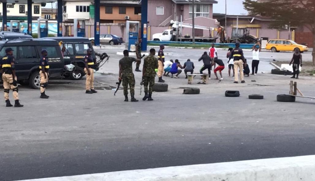 Lagos residents arrested for jogging despite lockdown order have ...