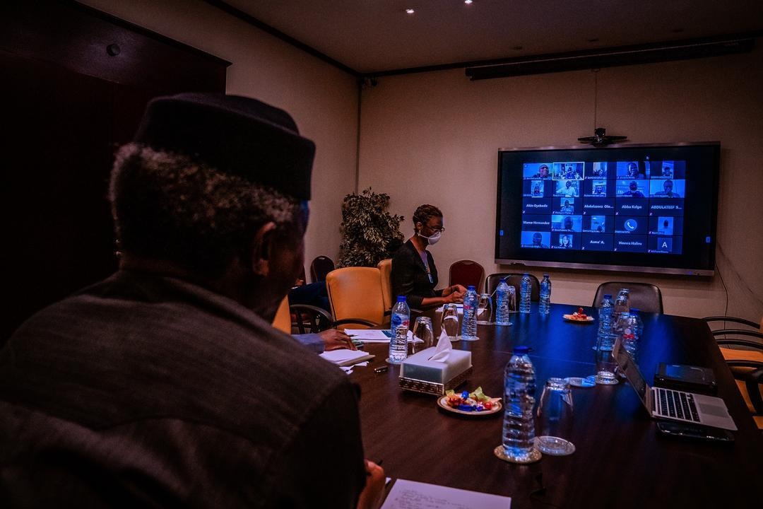COVID-19: VP Osinbajo holds video conference with Governors ...