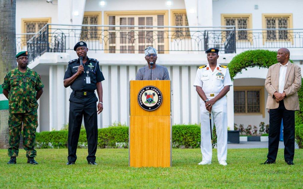 BREAKING: Lagos may extend lockdown, says Governor Sanwo Olu ...