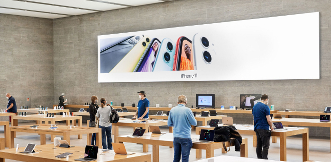 Apple reopens 25 more U.S. stores, will soon top 100 worldwide ...
