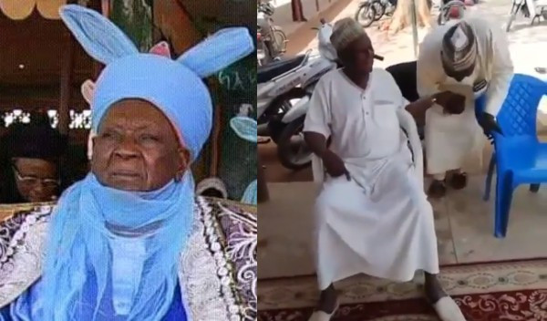 Emir of Daura holds court in hospital after recovering (video)