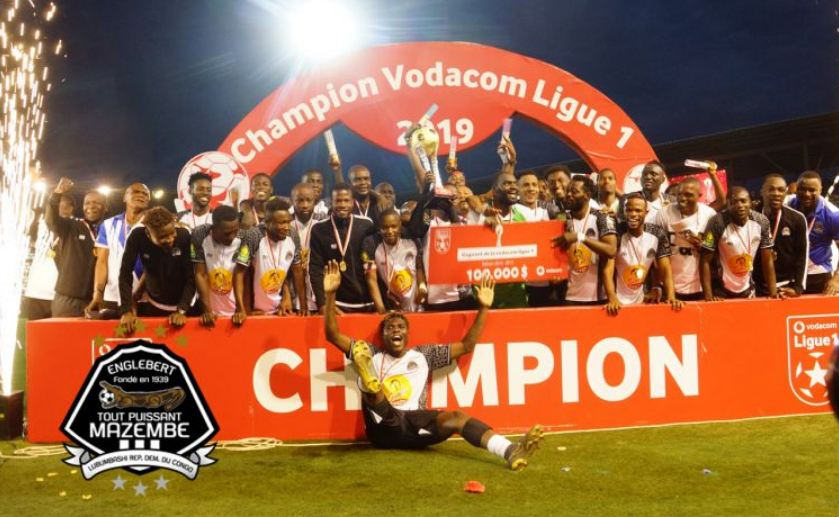 DR Congo football federation declares TP Mazembe league champions ...