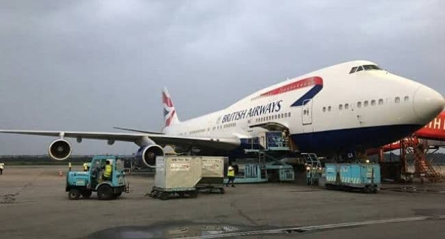 BREAKING: Nigerians evacuated from UK arrive Lagos | AIT LIVE