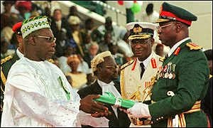 The Unknown Nigeria Blog: Inaugural Speech of President Olusegun ...