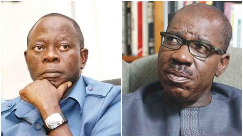 2020] Year of decision in Edo: How Obaseki, Oshiomhole stand