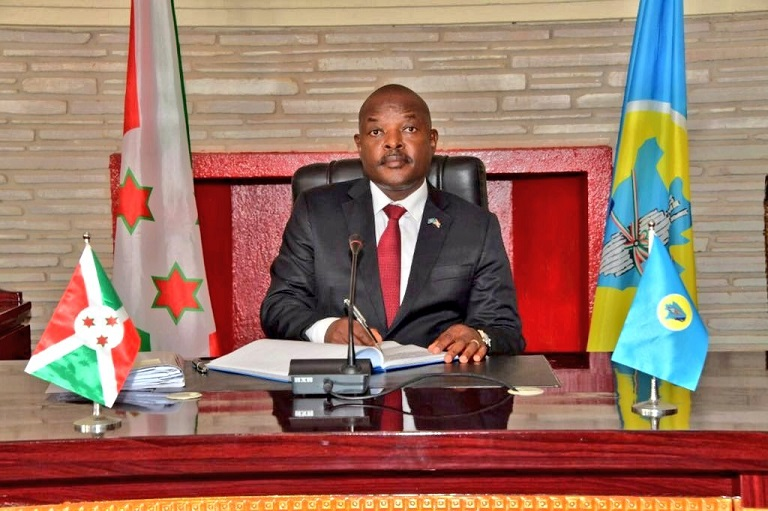 BREAKING! Burundi's President Pierre Nkurunziza has died aged 55 ...