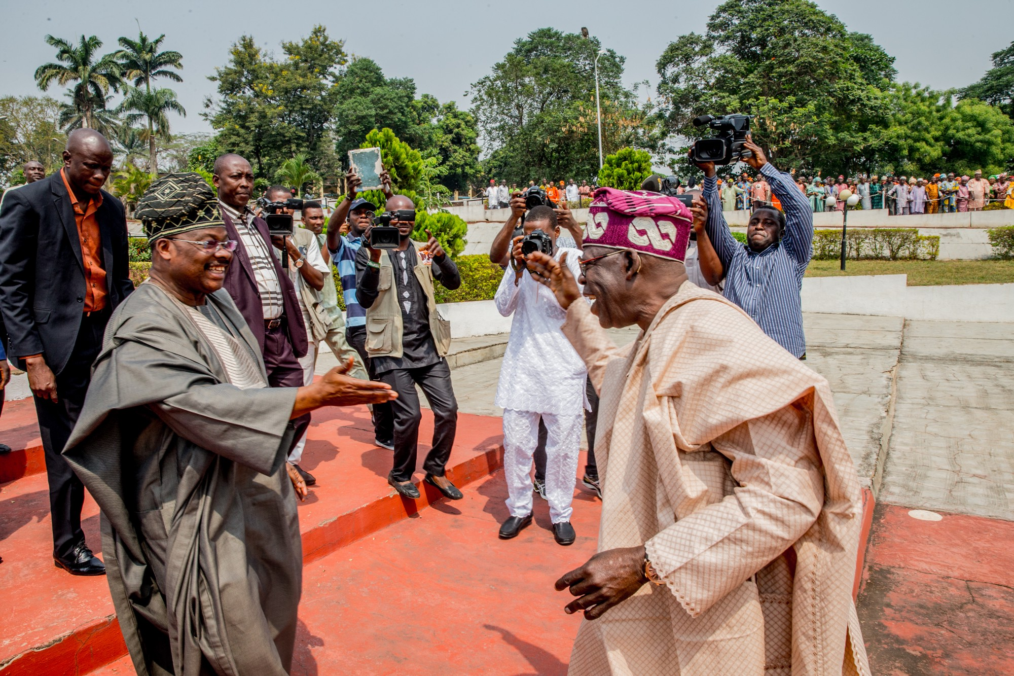"Tinubu explains that he is not trying to ""supplant or hide Gov ..."