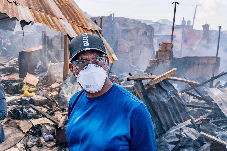 Delta: Victims Of Ogbeogonogo Market Fire Disaster Get FG's ...