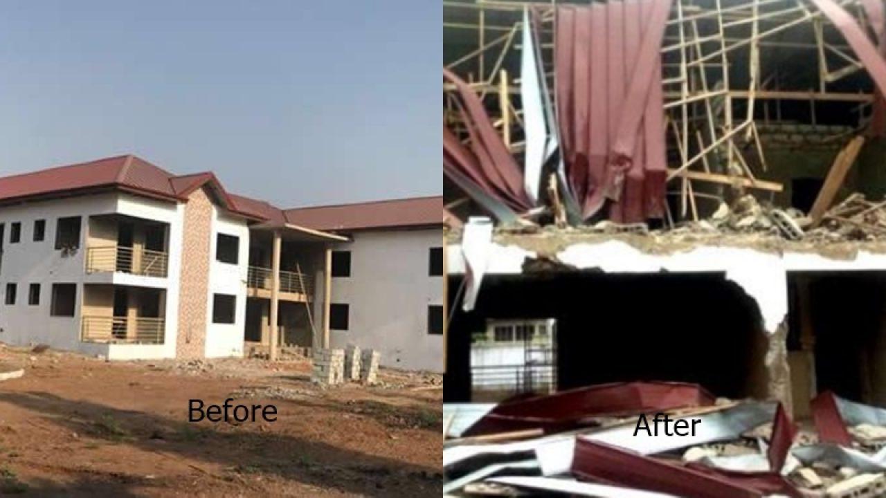 Demolished Diplomatic Building: Ghanaian President Has Apologies