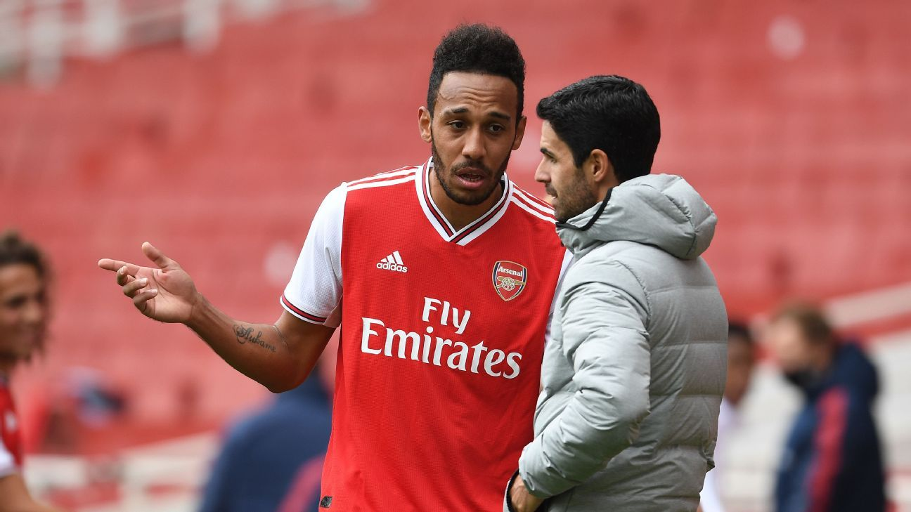 Arsenals Aubameyang on future No offer received on most important ...